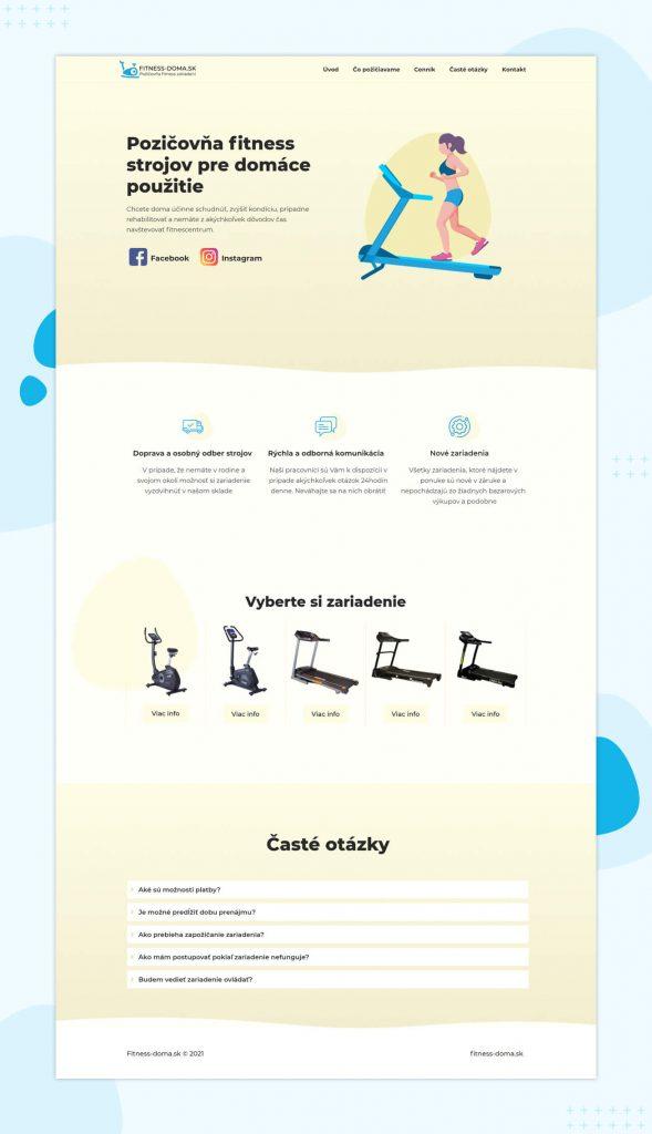 Referencie požičovňa fitness strojov